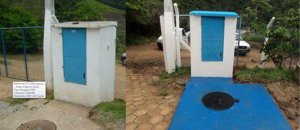 Melhorias ETA Massaguaçu - Antes e Depois 3